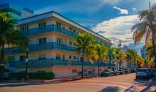Street In Miami Beach Road Bui...