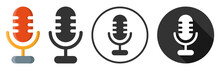 Microphone Audio Sound Icon Sy...