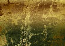 Gold Foil Paper Decorative Texture Background For Artwork - Illustration
