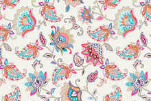 Classic Paisley And Fine Lace Pattern, Persian Pattern,suitable For Textile Clothing And Wallpaper Design, Invitation Design