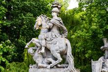 Statue Of John III Sobieski In...