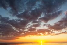 Sunrise Over The Sea And Magic...