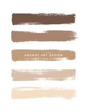 Brown Coffee Shades Art Brush ...