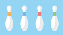 Bowling Pin Set. A Game For Fu...