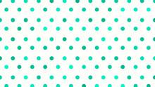 Green Polka Dot Background, Gr...