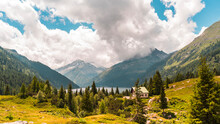 Panoramic View Of A Beautiful ...