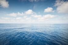 Clear Blue Sky With Cumulus Cl...