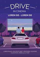 Drive In Cinema Poster Templat...