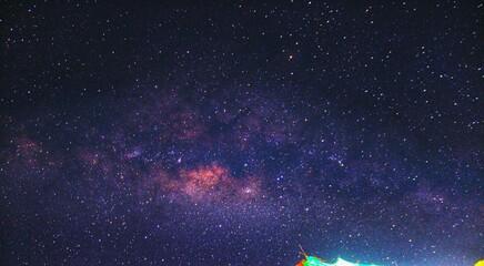 Milky way galaxy galactic Center astrophotography
