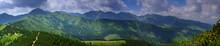 Panorama Tatry Zachodnie - Wid...