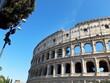 Koloseum – Amfiteatr Flawiuszów najbardziej znany symbol Wiecznego Miasta, Rzym, Italia.