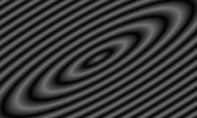 Gray Circular 3d Background.