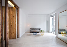 Simple Interior Of Modern Livi...
