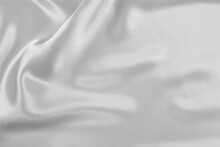 Satin Fabric With Gentle Curves