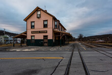 Derelict Train Station - Aband...