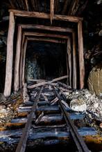 Derelict, Collapsing Narrow Ga...