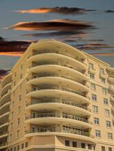 A Modern Stucco Condo Building...