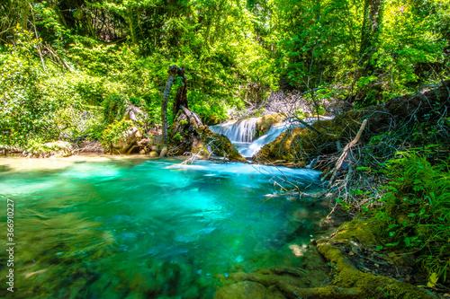 Fototapeta premium Wodospad Turgut w mieście Marmaris w Turcji