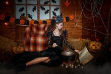 The Enchantress Brews A Potion...