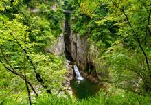Höhlen Von Škocjan Slowenien...