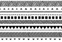 Ethnic Vector Seamless Pattern...
