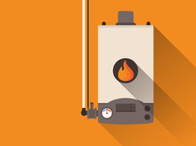 Home Gas Furnace