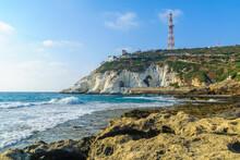 Coast And Rosh Hanikra Cliffs,...
