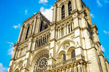 Notre Dame Cathedral In Paris....