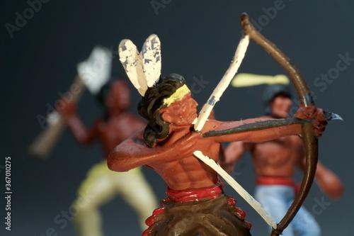 Obraz Indianer - fototapety do salonu