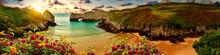 Vivid Landscape Of Beach And C...
