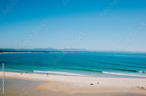 beach and sea, Byron bay beach Fotobehang