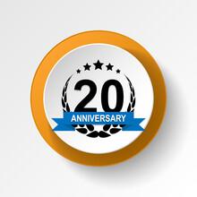 Anniversary, 20 Years Multicol...