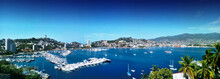 Panoramic Seen Of Acapulco Bay In Mexico