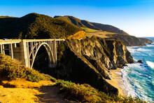 Bridge Across US 101 In The Ca...