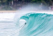 Breaking Ocean Waves On The An...