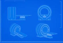 Mri Scanner Machine Blueprint