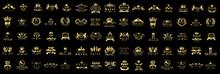 Luxury & Royal Logo Set - Isol...