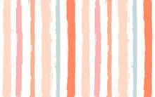 Hand Drawn Striped Pattern, Pi...