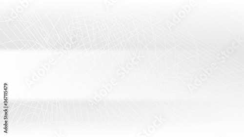 Fototapeta Simple and modern background with smooth gradient white color.