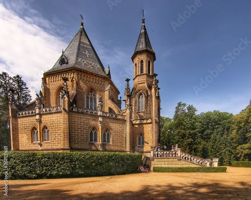 Fototapeta Schwarzenberská hrobka v Domaníně
