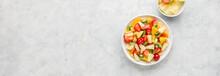 Fresh Chopped Fruit Salad In A...