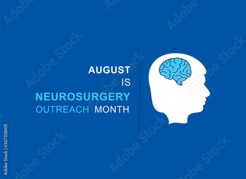 Obraz na plátně Neurosurgery Outreach Month observed in August