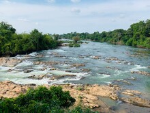 Chutes De Khone à Si Phan Don, Laos