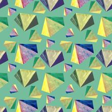 Geometric Seamless Pattern. Th...