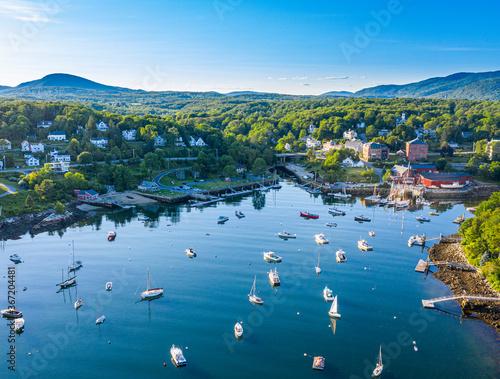 Canvas Print Maine Coast
