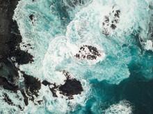 Aerial View Of Atlantic Ocean ...