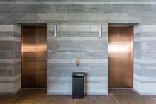 Indoor Elevator Hall Of Modern Office Building