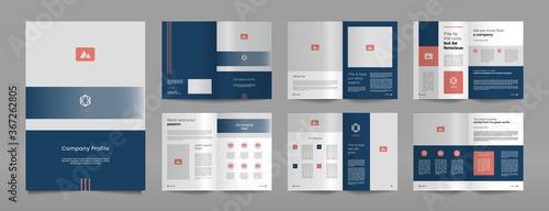Fotografia, Obraz Business proposal brochure design template