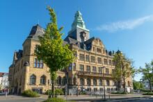 Rathaus Der Stadt Recklinghausen In Nordrhein-Westfalen