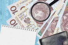 10 Polish Zloty Bills And Magn...